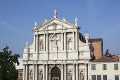 Santa Maria di Nazareth Church (Venice Italy) Royalty Free Stock Photo