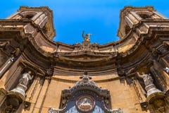 Santa Maria di Porto Salvo. Church at merchant street in Valletta Royalty Free Stock Photography