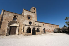 Santa Maria di Propezzano, church Stock Images