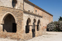 Santa Maria di Propezzano, church Royalty Free Stock Photos