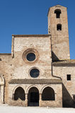 Santa Maria di Propezzano - Romanesque church Royalty Free Stock Photos