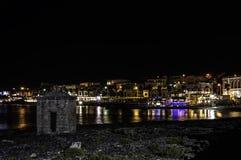 Santa Maria Di 's nachts leuca Royalty-vrije Stock Foto's