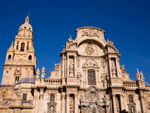 Santa Maria domkyrka i Murcia - Spanien Royaltyfri Bild