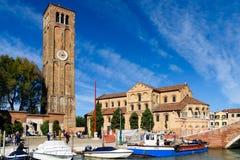 Santa Maria e San Donato, Murano island, Venice, Italy royalty free stock photos