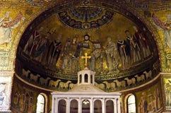 Santa Maria em Trastevere, Roma Imagem de Stock Royalty Free