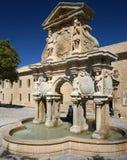 Santa Maria Fountain in Baeza, Spain Stock Photos