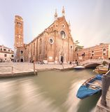 Santa Maria Gloriosa dei Frari church, Venice Royalty Free Stock Photography
