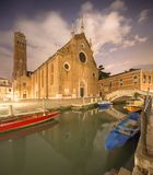 Santa Maria Gloriosa dei Frari, Venice Stock Photography