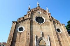 Santa Maria Gloriosa del Frari Arkivbild