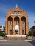 Santa Maria Immaculata di Lourdes w Mestre, Włochy fotografia royalty free