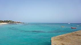 Santa Maria jetty Zdjęcie Stock