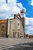Santa Maria-kerk in Cabras Royalty-vrije Stock Foto's