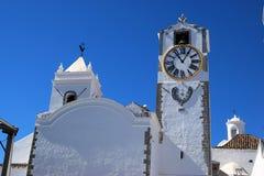 Santa Maria-Kirche Tavira Spanien stockbild