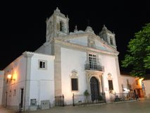 Santa Maria Kościelny Lagos Algarve Portugalia Obraz Stock