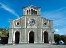 Santa Maria kyrka i Cortona Tuscany Italien Fotografering för Bildbyråer