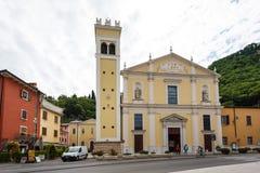 Santa Maria kyrka i Garda Royaltyfria Bilder