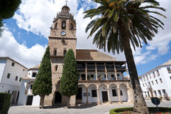 Santa Maria la Mayor Church Royalty Free Stock Photo
