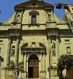 Santa Maria la Mayor i Alcalà ¡ de Henares, Spanien Royaltyfri Fotografi