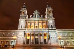 Santa Maria la Real de La Almudena Foto de archivo libre de regalías
