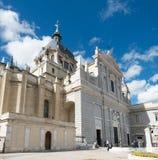 Santa Maria la Real de La Almudena Immagini Stock Libere da Diritti