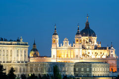 Santa Maria la Real de La Almudena - Cathedral in M0adrid, Spain. Royalty Free Stock Photos