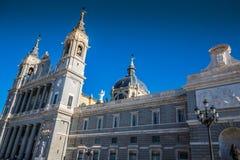 Santa Maria la Real de La Almudena Cathedral, Madrid Immagine Stock Libera da Diritti