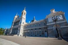 Santa Maria la Real de La Almudena Cathedral, Madrid Fotografia Stock Libera da Diritti
