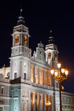 Santa Maria la Real de La Almudena - Cathedral in Madrid, Spain Royalty Free Stock Images