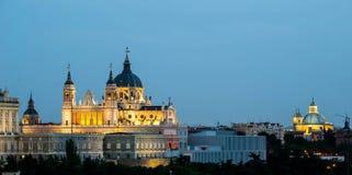 Santa Maria la Real de La Almudena. Stock Image