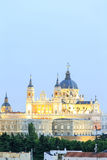 Santa Maria la Real de La Almudena - Cathedral in Madrid Stock Photography