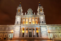 Santa Maria la Real de La Almudena Royalty Free Stock Photo