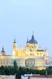 Santa Maria la Real de La Almudena - Kathedrale in Madrid Stockbild
