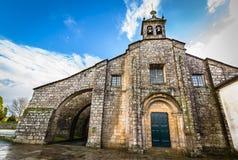 Santa Maria la Real del Sar Fotografia Stock