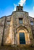 Santa Maria la Real del Sar Facade Royalty Free Stock Images