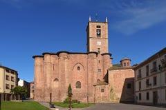 Santa Maria La Real kloster, Najera, väg, Arkivfoton
