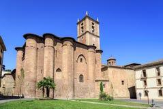 Santa Maria la Real monastery, Najera, Navarre Royalty Free Stock Photography