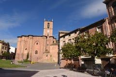 Santa Maria La Real Monastery Najera, väg av Royaltyfria Foton