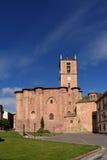 Santa Maria La Real Monastery Najera, väg av Arkivbilder