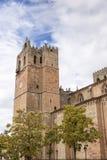 Santa Maria losu angeles Mayor katedra w Siguenza Zdjęcie Royalty Free
