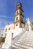 Santa Maria Maddalena Church in Atrani Royalty Free Stock Photo