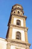 Santa Maria Maddalena Church in Atrani Stock Photos
