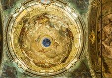 Santa Maria Maddalena church of Genova, Italy. Royalty Free Stock Images