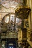 Santa Maria Maddalena church of Genova, Italy. Royalty Free Stock Photos