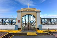 Santa Maria Magdalena Cemetery - il Porto Rico immagini stock libere da diritti