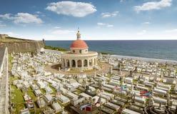 Santa Maria Magdalena cemetery, old San Juan, Puerto Rico. Santa Maria Magdalena de Pazzis cemetery, old San Juan, Puerto Rico stock photo
