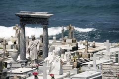 Santa Maria Magdalena de Pazzis cemetery Stock Photo