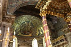 Santa Maria Maggiore Royalty Free Stock Image