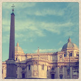 Santa Maria Maggiore Royalty Free Stock Photos