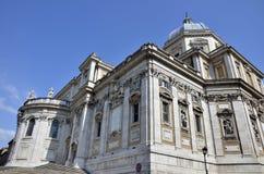 Santa Maria Maggiore church Stock Photography