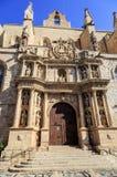 Santa Maria Maggiore church Montblanc, Stock Image